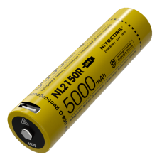 Аккумулятор литиевый Li-Ion 21700 Nitecore NL2150R 3.6V (5000mAh, USB Type-C), защищенный