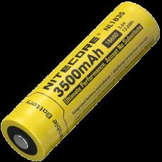Аккумулятор литиевый Li-Ion 18650 Nitecore NL1835 3.7V (3500mAh), защищенный