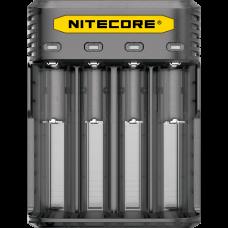 Зарядное устройство Nitecore Q4 (4 канала), черное
