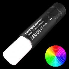 Фонарь кемпинговый Nitecore LA10 CRI (Nichia LED, 85 люмен, 4 режима, 1хAA), черный