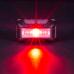 Фонарь налобный Nitecore NU10 (4xLED + RED LED, 160 люмен, 4 режимов, USB), черный