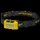 Фонарь налобный Nitecore NU10 (4xLED + RED LED, 160 люмен, 4 режимов, USB), желтый