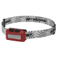 Фонарь налобный Nitecore NU10 (4xLED + RED LED, 160 люмен, 7 режимов, USB), красный