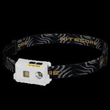 Фонарь налобный Nitecore NU25 (Сree XP-G2 S3, 360 люмен, 10 режимов, USB), белый