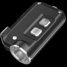 Фонарь Nitecore TINI (Cree XP-G2 S3 LED, 380 люмен, 4 режима, USB), черный