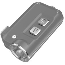 Фонарь Nitecore TINI (Cree XP-G2 S3 LED, 380 люмен, 4 режима, USB), серебряный