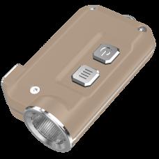 Фонарь Nitecore TINI (Cree XP-G2 S3 LED, 380 люмен, 4 режима, USB), золотой