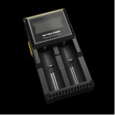 Зарядное устройство Nitecore Digicharger D2 с LED дисплеем (2 канала)